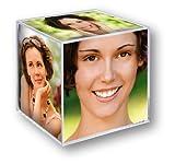 Zep 8151 Décoration de la Maison Cube Photo Transparent...