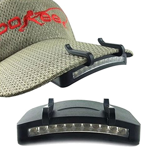 11 LED Headlight HeadLamp Flashlight Cap Hat