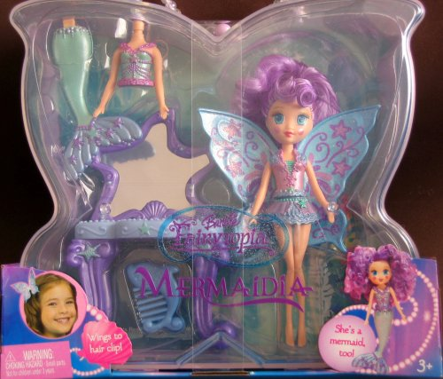 Barbie Fairytopia Mermaidia Purple Seabutterfly Doll - Buy Barbie Fairytopia Mermaidia Purple Seabutterfly Doll - Purchase Barbie Fairytopia Mermaidia Purple Seabutterfly Doll (Barbie, Toys & Games,Categories,Dolls,Playsets)