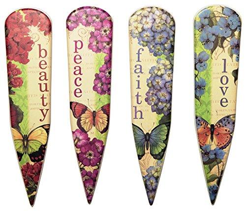 cr-gibson-eden-porcelain-garden-stakes-multicolor-set-of-4