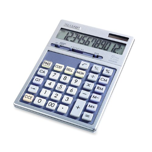 Best Price Sharp HO EL2139HB 12 Digit Solar and Battery powered Calculator With PuctuationB0000A0PXX