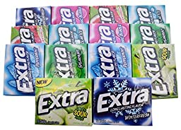 Extra Gum Variety Gift Box - 14 Packages