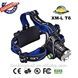 DivineXt Zoom Headlamp Camping Night Outdoor LED High Power