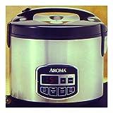 Aroma ARC-960SB 10-Cup Sensor Logic Rice Cooker & Food Steamer