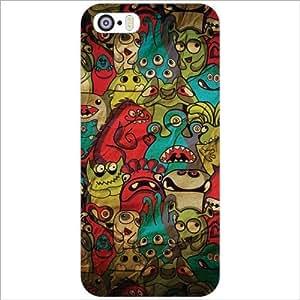Design Worlds - Apple iPhone 5S Designer Back Cover Case - Multicolor Phone...