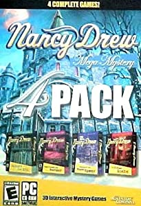 Nancy Drew Mega Mystery 4 Pack: Secrets Can Kill, Stay Tuned for Danger, Treasure in the Royal Tower, and The Final Scene
