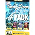 Nancy Drew Mega Mystery 4 Pack (Secrets Can Kill ,Stay Tuned for Danger, Treasure In The Royal Tower)