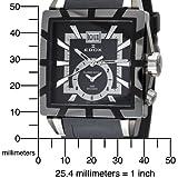 Edox Men's  62002 357N NIN GMT Quartz Classe Royale Watch