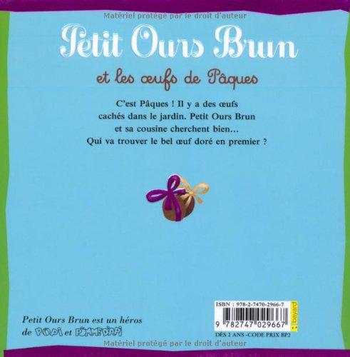 Libro petit ours brun et les oeufs de p ques di marie aubinais - Petit ours brun piscine ...