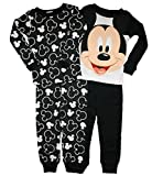 Disney Little Boys Mickey Mouse 4 Pc Cotton Pajama Set