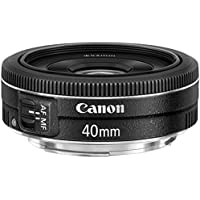 Canon EF 40mm f/2.8 STM Standard Lens (Black) - Refurbished