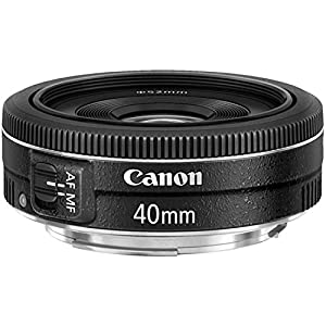 Canon EF 40mm f/2.8 STM Lens - Fixed