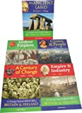 Mike Corbishley The Young Oxford History Pack - 5 Book Collection RRP 39.95 ( An Ancient Land Prehistory Vikings, Medieval Kingdoms: Alfred the Great - Henry VII, Crown and People: 1500 - 1700, Empire and Industry: 1700-1900, A Century of Change: 1900 -
