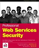 img - for Professional Web Services Security book / textbook / text book