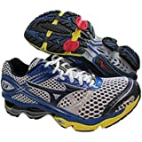 Mizuno Wave Creation 13 Mens Athletic Running Shoes White/Blue US 7