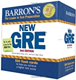 img - for Barron's New GRE Flash Cards, 2nd Edition book / textbook / text book