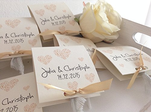 gastgeschenke zur hochzeit lollies personalisiert. Black Bedroom Furniture Sets. Home Design Ideas