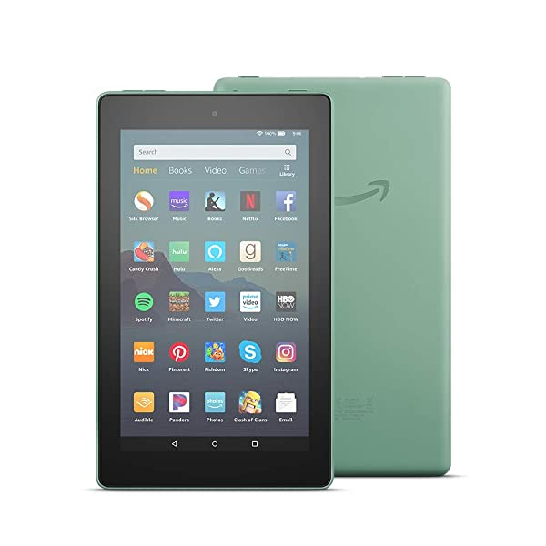 All-New Fire 7 Tablet (7 display, 16 GB) - Sage (Color: Sage)