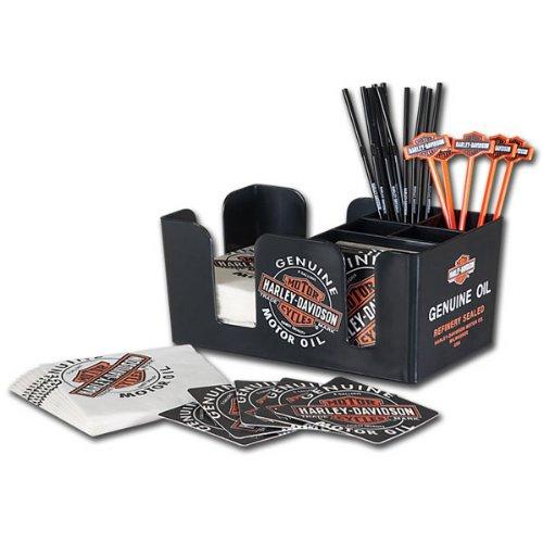 Harley-Davidson® Oil Can Bar Caddy