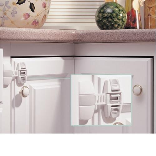 Adjustable Locking Strap Color: White