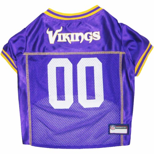 Pets First NFL Minnesota Vikings Jersey, Small