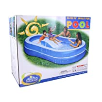 The Wet Set Slide N Spray Fun Pool