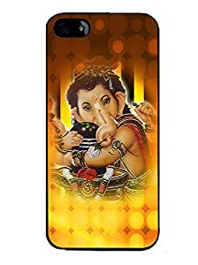 PrintVisa Metal Printed Lord Ganesh Designer Back Case Cover for Mototola Moto G2 (2nd Gen)-D5063