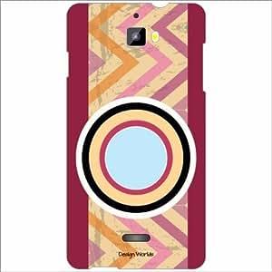 Design Worlds - Micromax Canvas Nitro A311 Designer Back Cover Case - Multi...