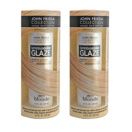 Sheer Blonde Luminous Color Glaze Platinum to Champagne 6.5 Oz. By John