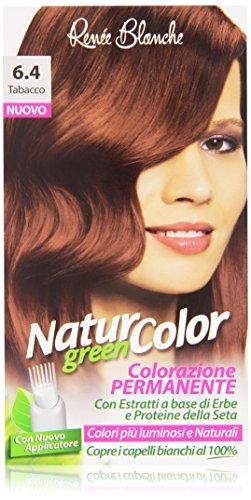 Renée Blanche - Natur Color, Colorazione Permanente, 6.4 Tabacco - 1 confezione