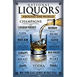 BCreative Liquors Around The World Poster