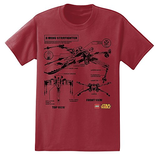 Lego-Star-Wars-X-Wing-Blueprint-Adult-T-Shirt