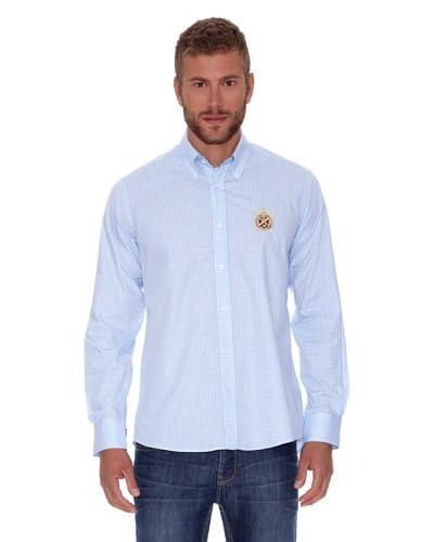 Polo Club Camicia Fitted [Azzurro]