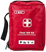 I Go A1FA02 Expedition First Aid Kit Red Travel Emergency amp Survival