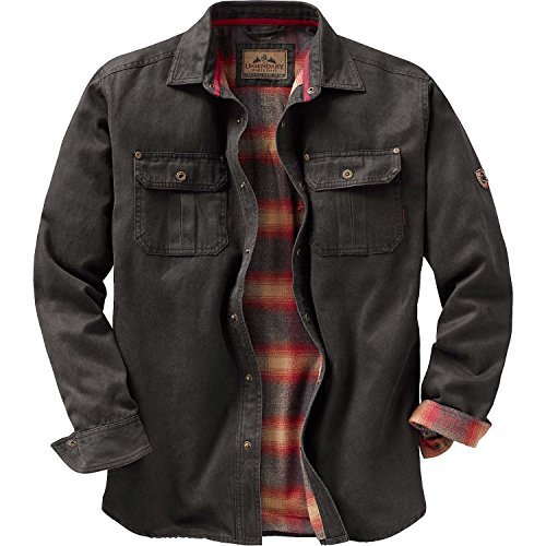 Legendary Whitetails Mens Journeyman Shirt Jacket Tarmac X-Large (Outdoor Leather Jacket compare prices)