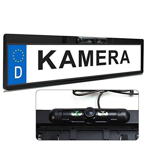 XOMAX-XM-014-Farb-Rckfahrkamera-mit-Nummernschild-Kennzeichen-Halterung-und-Nachtsicht-Funktion-Infrarot-LED-120-Grad-Blickwinkel-Auflsung-648-X-488-Pixel-Farb-CMD-Sensor-Lichtempfindlichkeit-nur-05-L