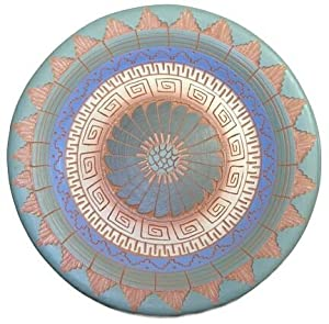 Navajo Etched Plate ~ 8.25 Inch