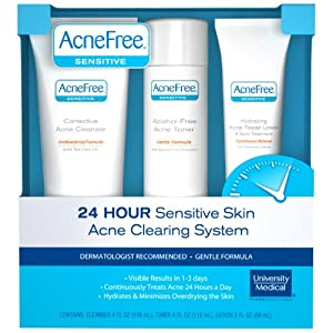 AcneFree Sensitive Skin Acne System