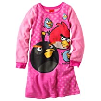 Angry Birds Fleece Nightgown - Girls (Medium (7/8))