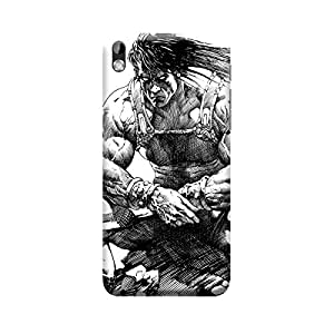 TransMute Premium Printed Back Case Cover With Full protection For HTC 816 (Designer Case)