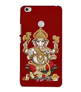 Lord Vinayaka Swamy Vigneswara 3D Hard Polycarbonate Designer Back Case Cover for Xiaomi Mi Max