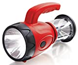 Hand Crank LED Flashlight & Lantern And Emergency Cell Phone Smartphone Charger - Recharges with Dynamo Power Crank Handle Or USB Direct No Replacing Batteries