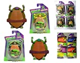 TEENAGE MUTANT NINJA WATER GROW TURTLES X 4 - LEONARDO, DONATELLO, RAPHAEL AND MICHELANGELO