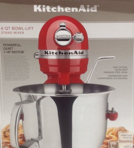 Brand New Kitchenaid 6 Quart Bowl-lift Stand Mixer Red Big SALE