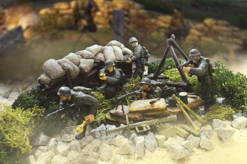 Picture of Panache Place Unimax Forces of Valor 1:32 Scale German 716th Infantry Division D-Day Series Figure (B0013U7NQA) (Panache Place Action Figures)