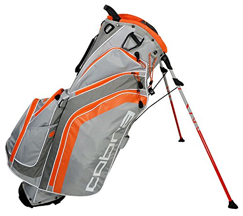 Cobra 90911402 Golf FLY-Z Stand Bag, Grey/Orange