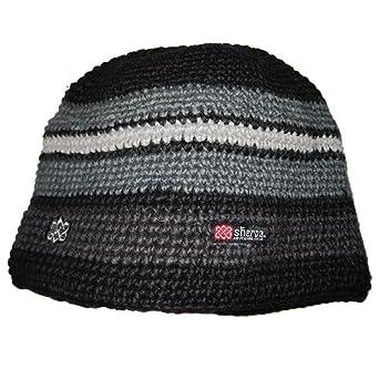 Sherpa Khunga Wool Winter Hat - Black / Kharani / Monsoon / Darjeeling Mist
