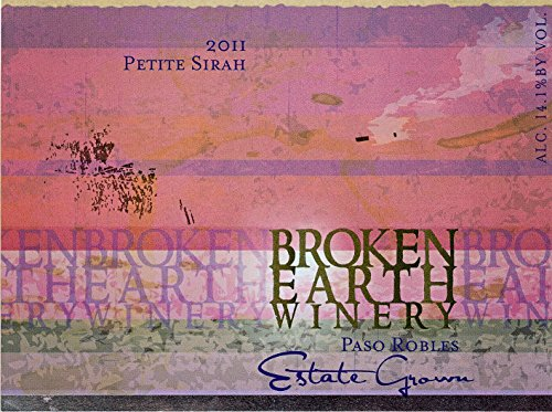 2011 Broken Earth Limited Release Petite Sirah 750Ml