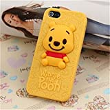 Lovetsal Cute Disney 3d Silicone Soft Case for Apple Iphone 5/5s (Winnie The Pooh) + 1psc Lovestal Wristband