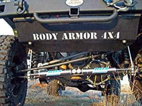Body Armor 4x4 JK-5123Black - Steel Front Skid Plate for 2007 -2013 Jeep JK Wrangler
